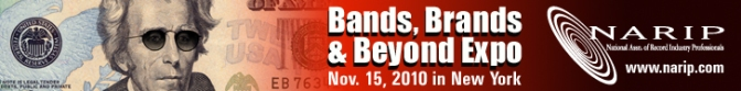 NARIP's Bands, Brands & Beyond Expo – 11/15/10