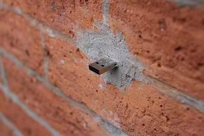 If You Happen to See a USB Sticking Out Of A Wall in NYC