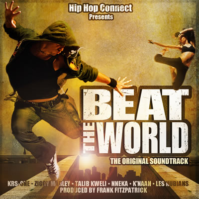 KRS-One, Talib Kweli, and K'NAAN – Beat The World Soundtrack Releasing 6/14/11