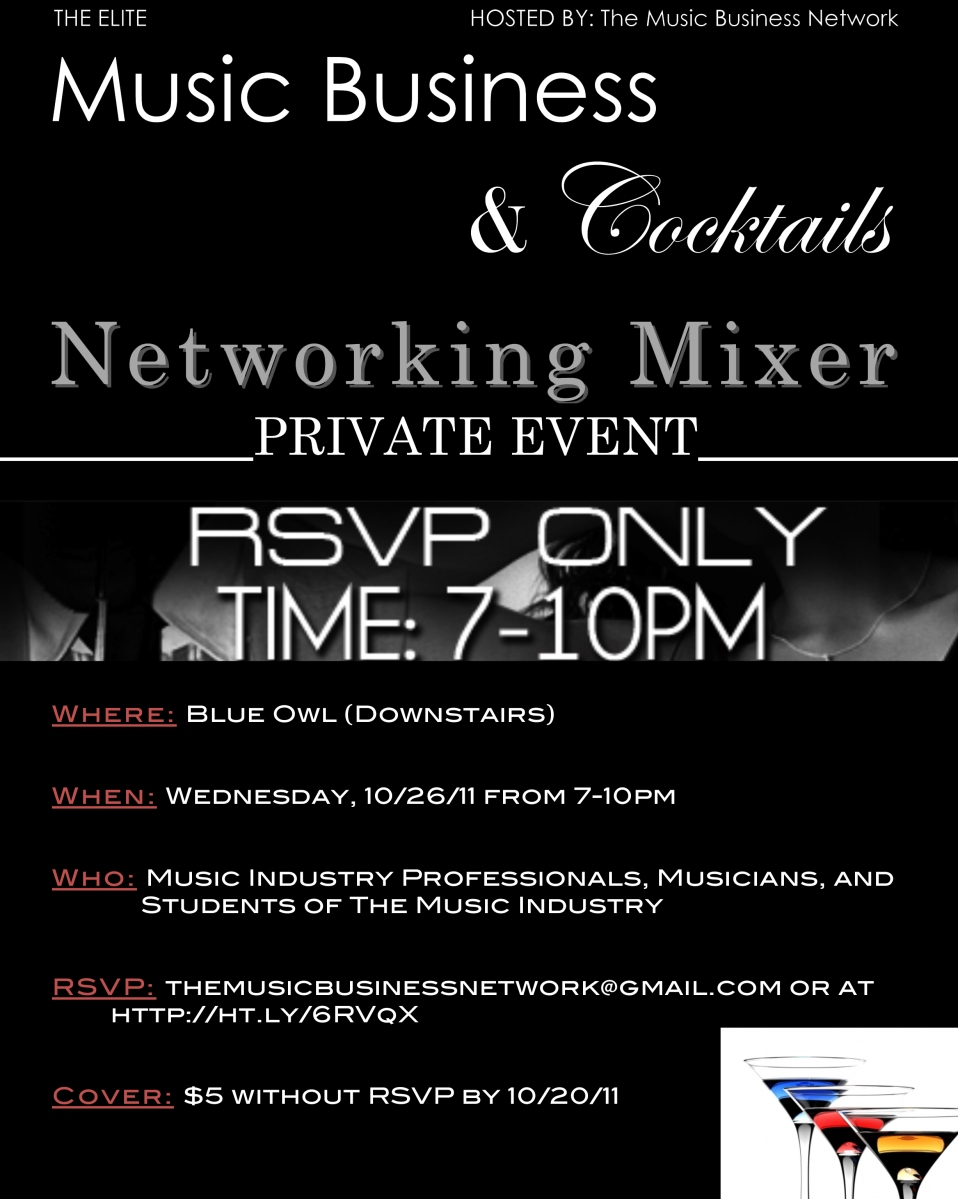The Music Business Network S 3rd Annual Post CMJ Networking